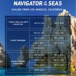 Sailing From Los Angeles, California – RCCL Navigator of the Seas